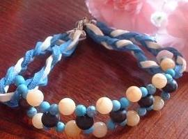 猫首輪ブルー